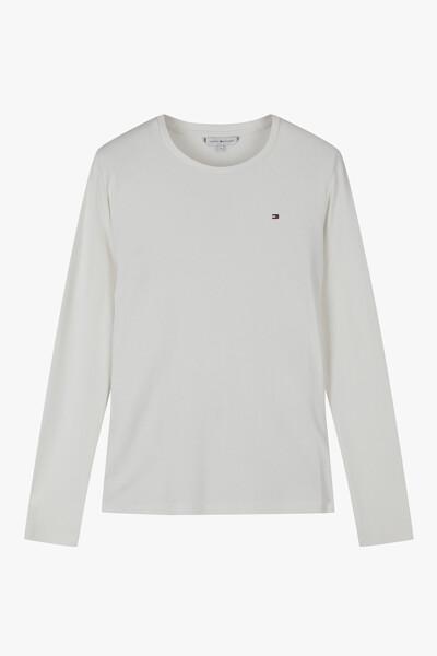 슬림 롱 슬리브리스 티셔츠