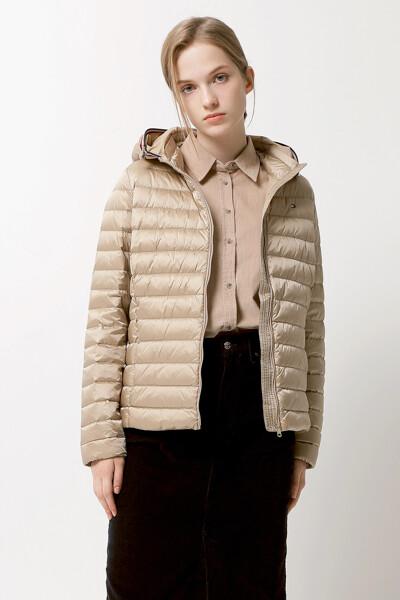 세미 샤이니 다운 자켓