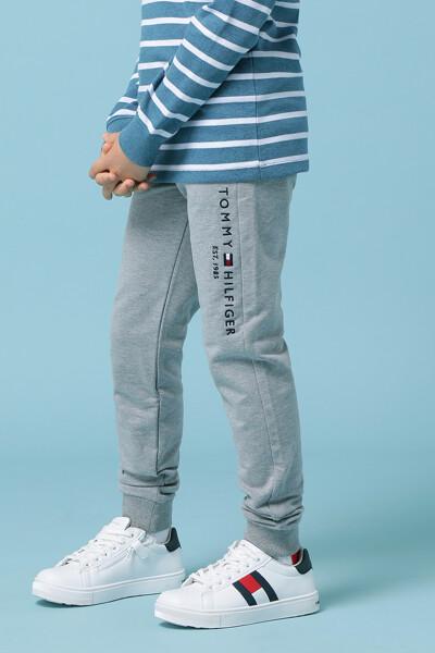 일자핏 에센셜 스웨트 기모팬츠