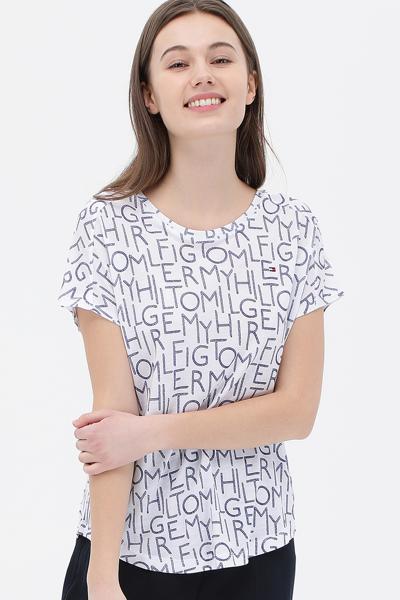 리오셀 그래픽 반소매 티셔츠