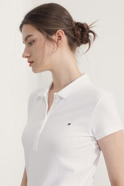 면혼방 슬림핏 솔리드 티셔츠