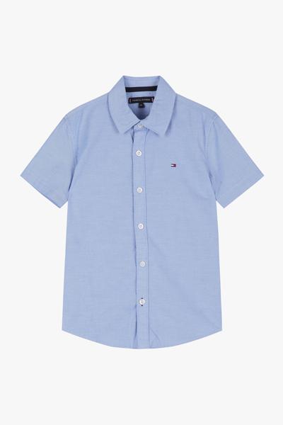면혼방 베이직 반소매 셔츠