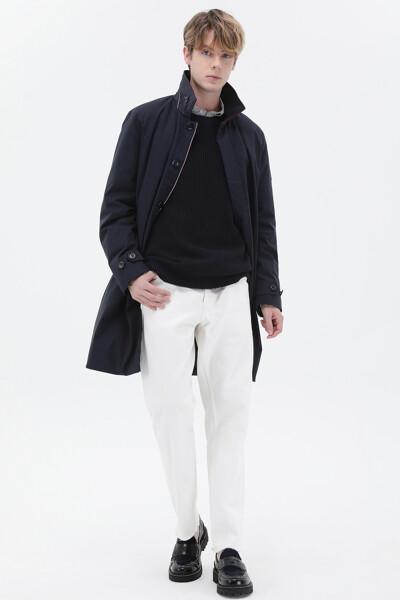 박시핏 경량 패드 카 코트