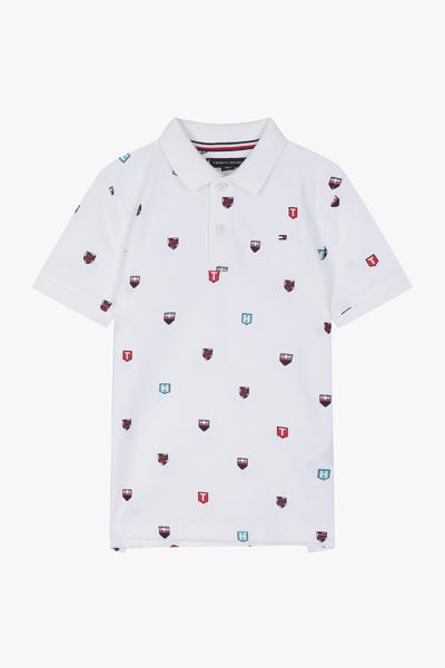 쉴드 반소매 폴로 티셔츠