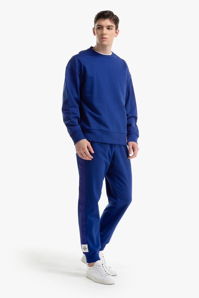 [남성] 면혼방 솔리드 크루넥 맨투맨 티셔츠
