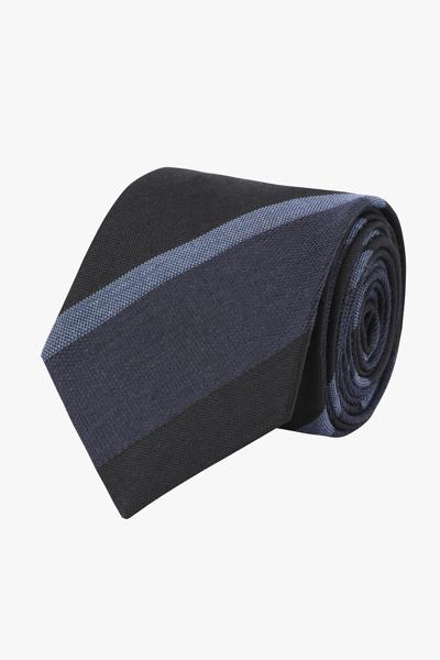 [남성] 실크혼방 트리플 레지멘탈 넥타이