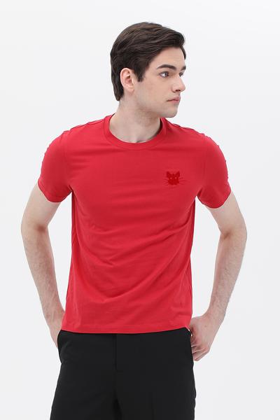 코튼 쥐 반소매 티셔츠