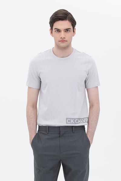 [남성] 코튼 라운드넥 반소매 티셔츠