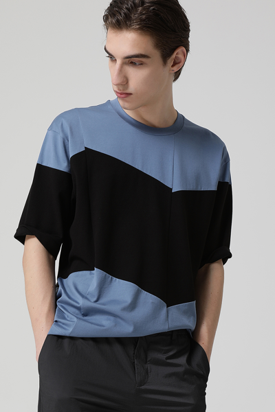 [남성] 코튼 레귤러핏 반팔 기본 티셔츠