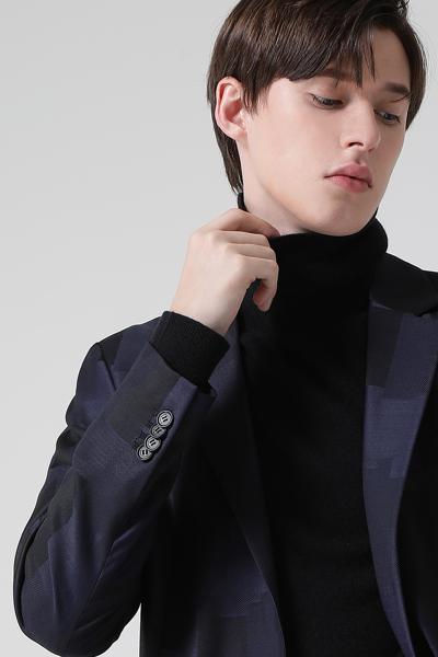 [남성] 울혼방 센트럴핏 스트럭처 수트 자켓