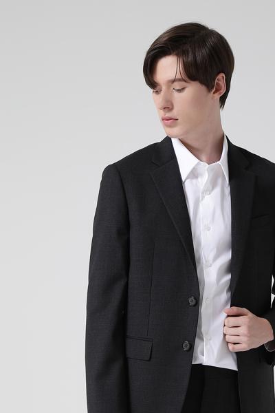 [남성] 울혼방 스트레치핏 샤크스킨 수트 자켓