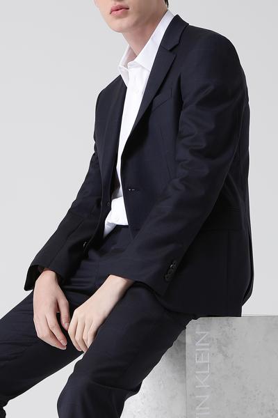 [남성] 울 레귤러핏 페이드 체크 수트 자켓