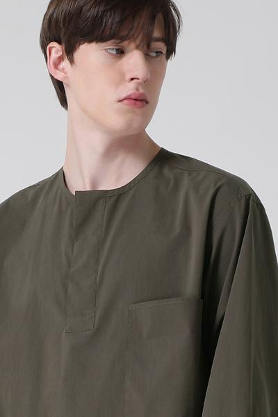 [남성] 포켓 크루넥 셔츠