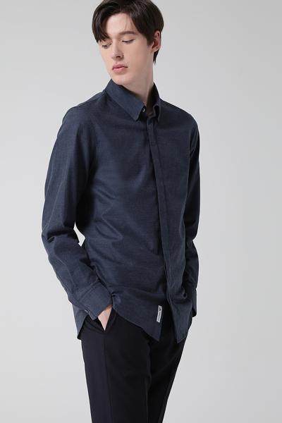 [남성] 플란넬 긴소매 셔츠