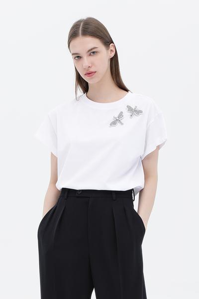 면 드래곤플라이 반소매 티셔츠